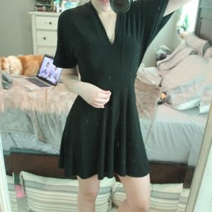 Oh my love black fitted dress